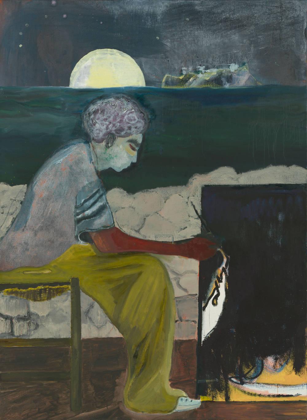 Painting on an Island (Carrera)