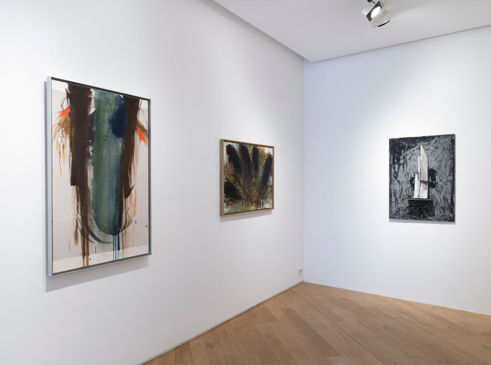 Galerie Lelong avenue Matignon Jannis Kounellis Arnulf Rainer Antoni Tapies 4