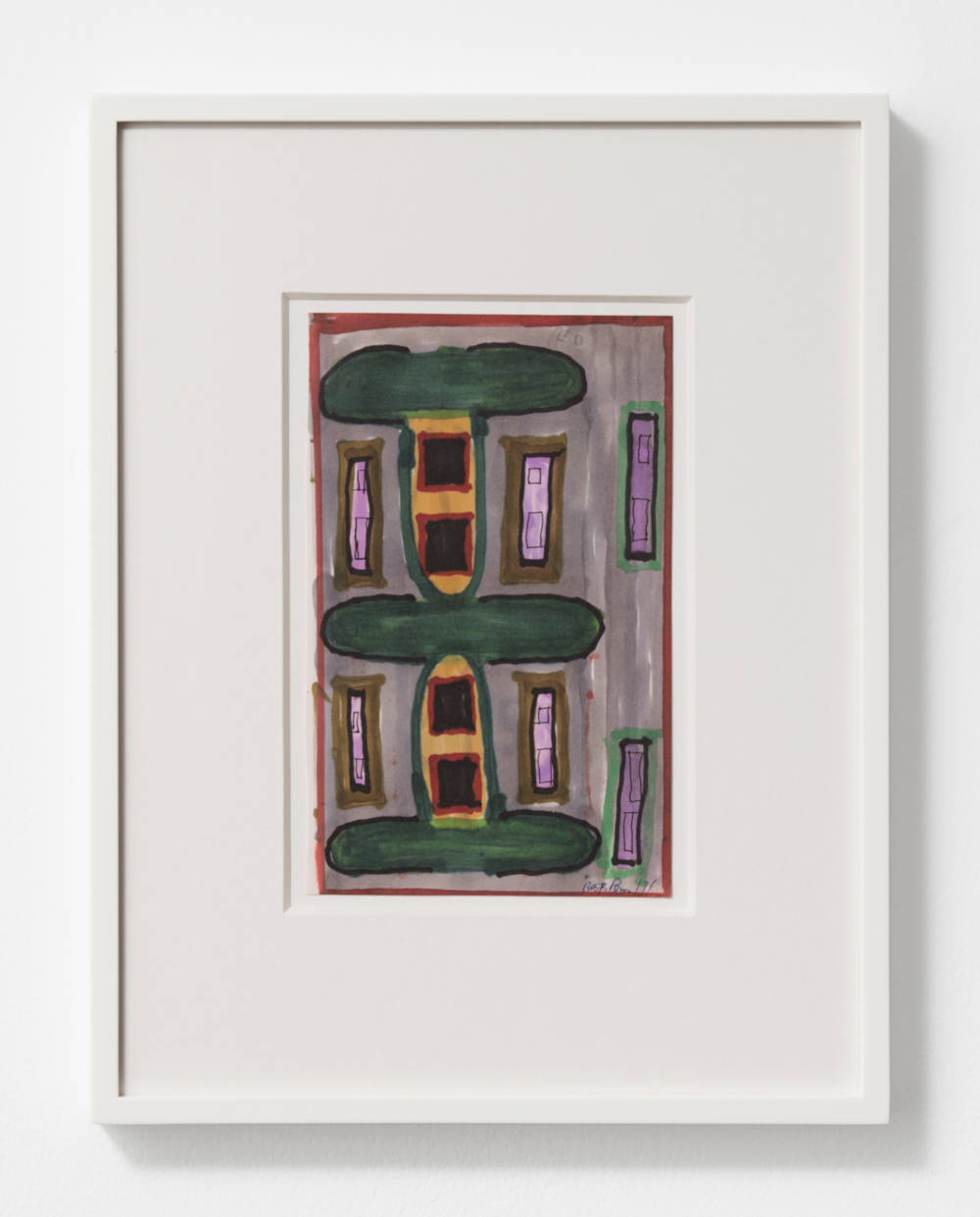 Untitled (House Facade)
