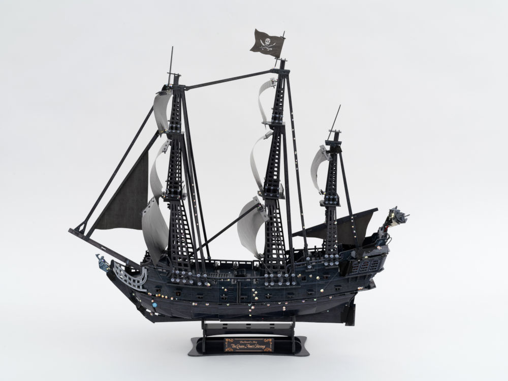 the fairy pirate ship - a bedazzled ship - Cubic Fun Puzzle