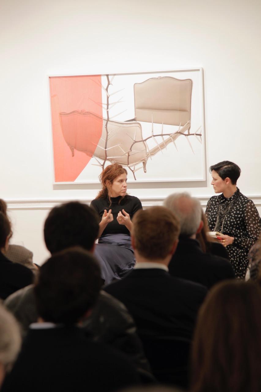 Silvia Giambrone and Hettie Judah