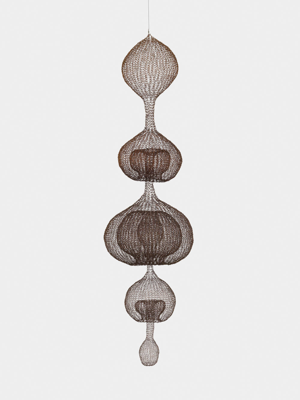 Untitled (S.142, Hanging Five-Lobed, Multi-Layer Continuous Form within a Form)