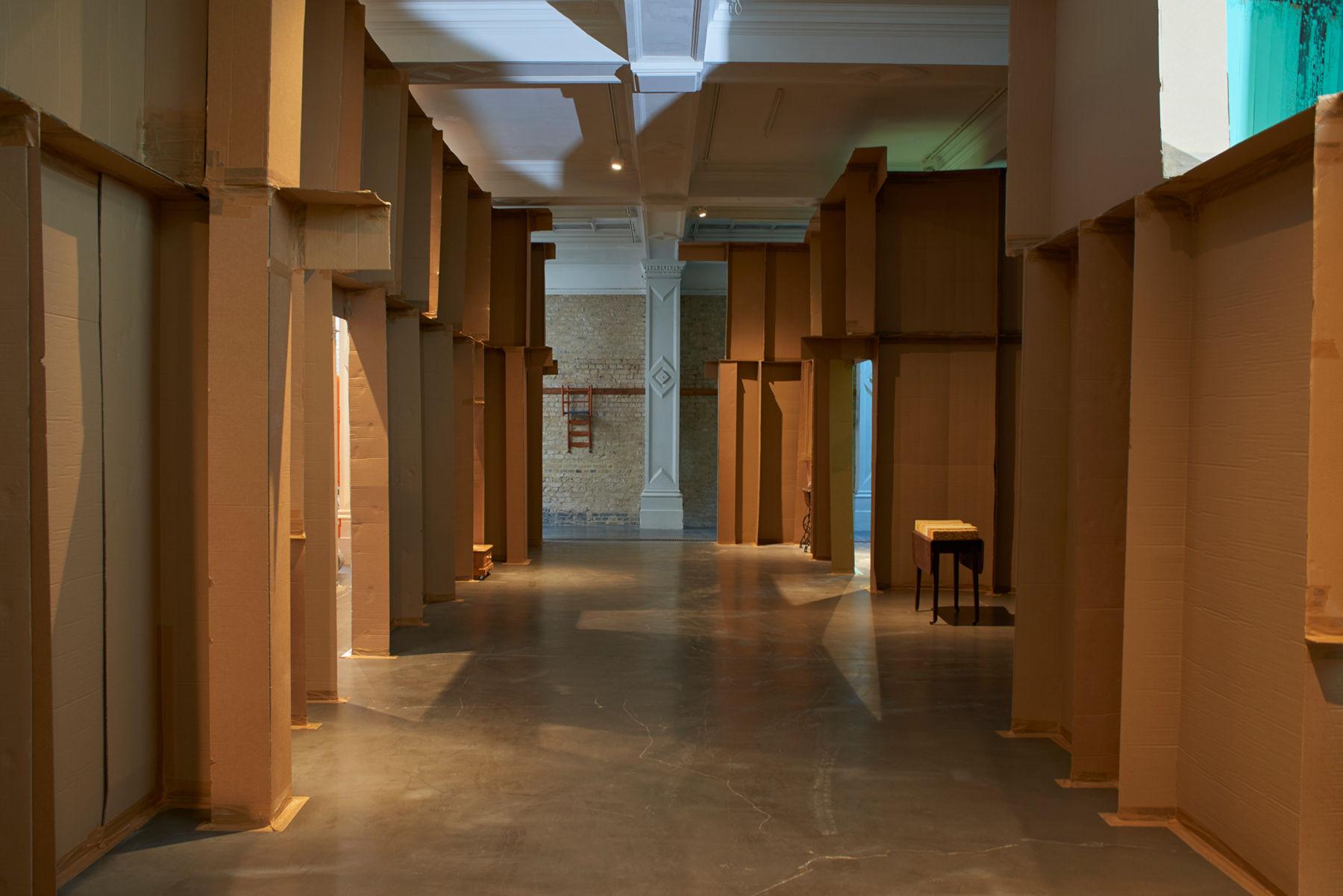 Whitechapel Gallery Carlos Bunga 1