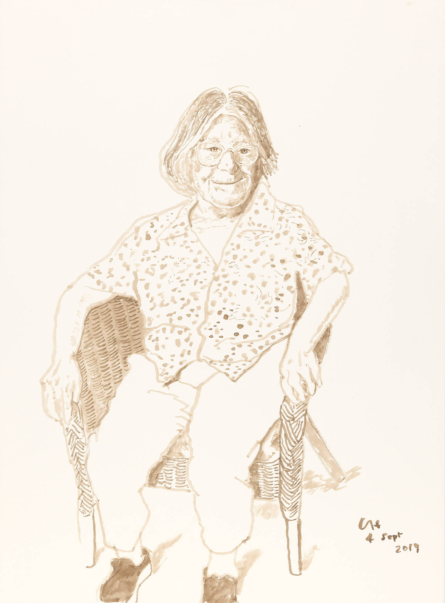 Margaret Hockney, 4 Sept 2019