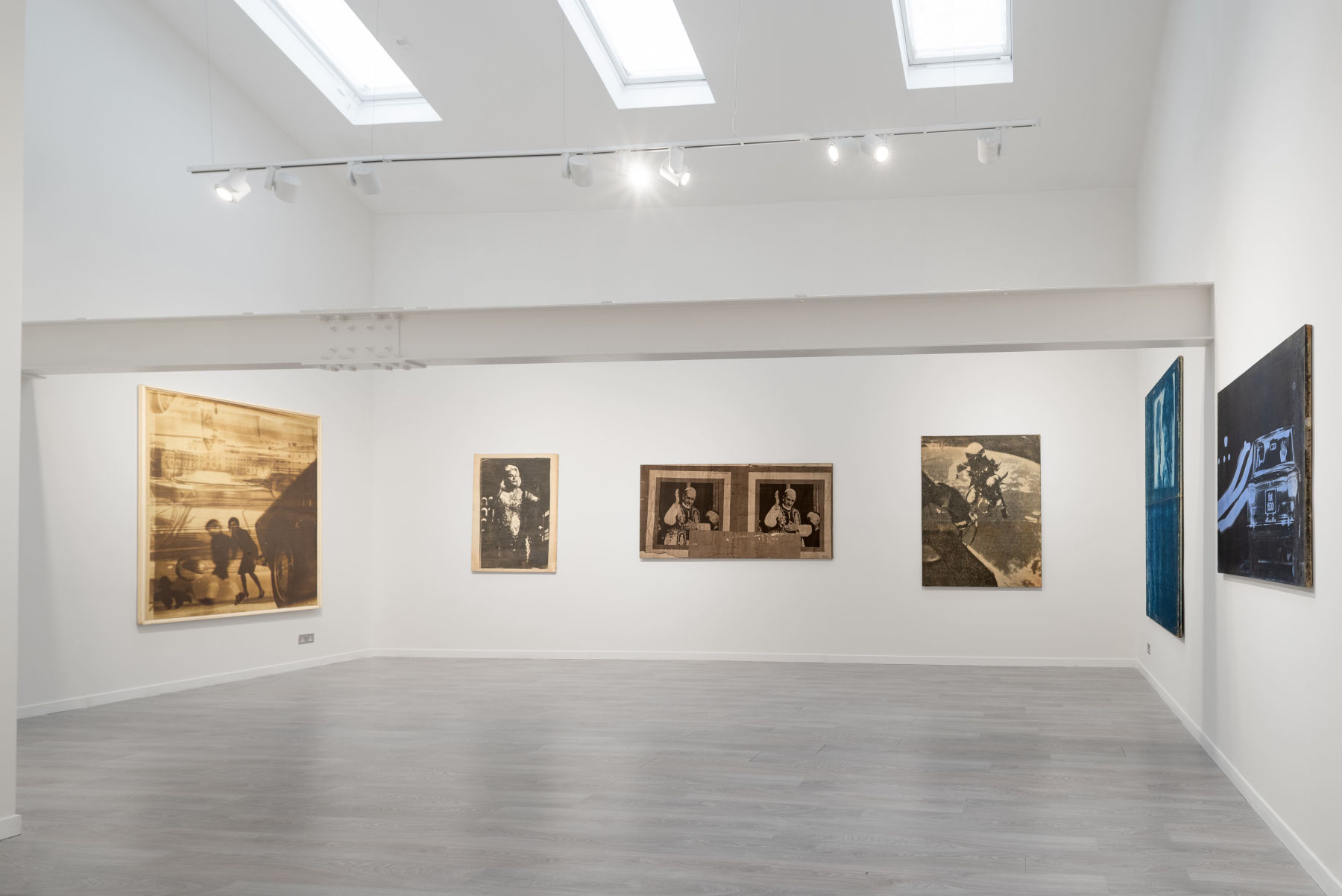 Cardi Gallery London Mimmo Rotella 1
