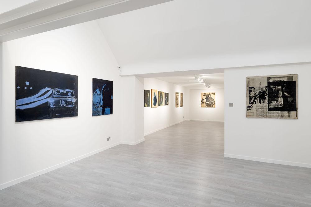 Cardi Gallery London Mimmo Rotella 4