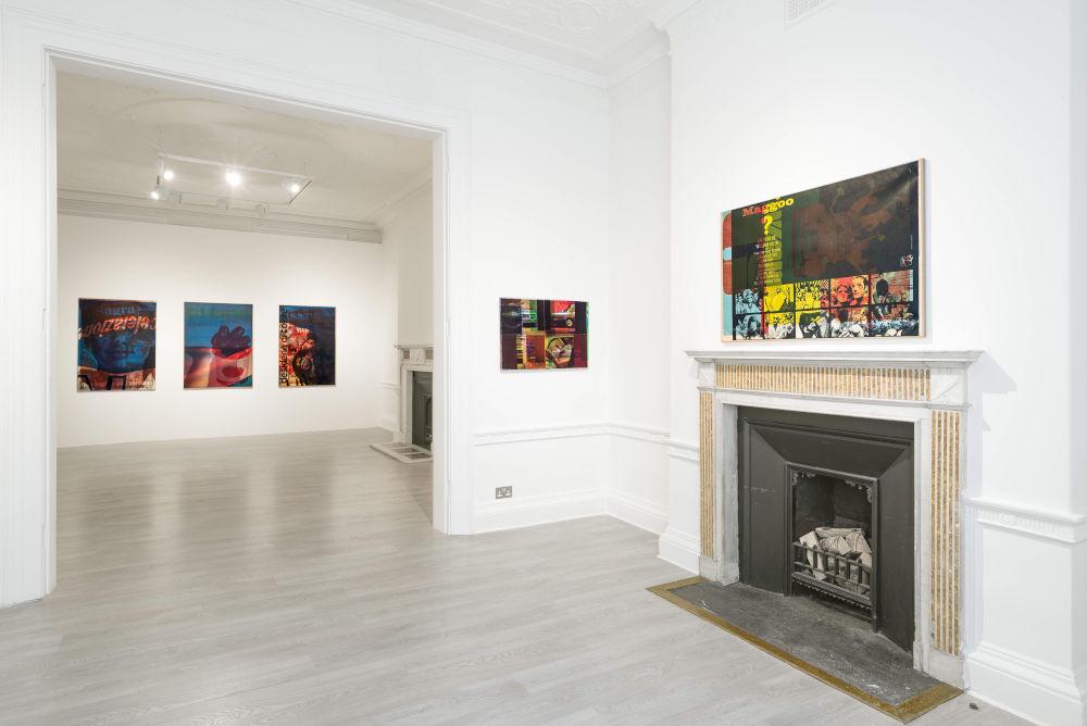 Cardi Gallery London Mimmo Rotella 6