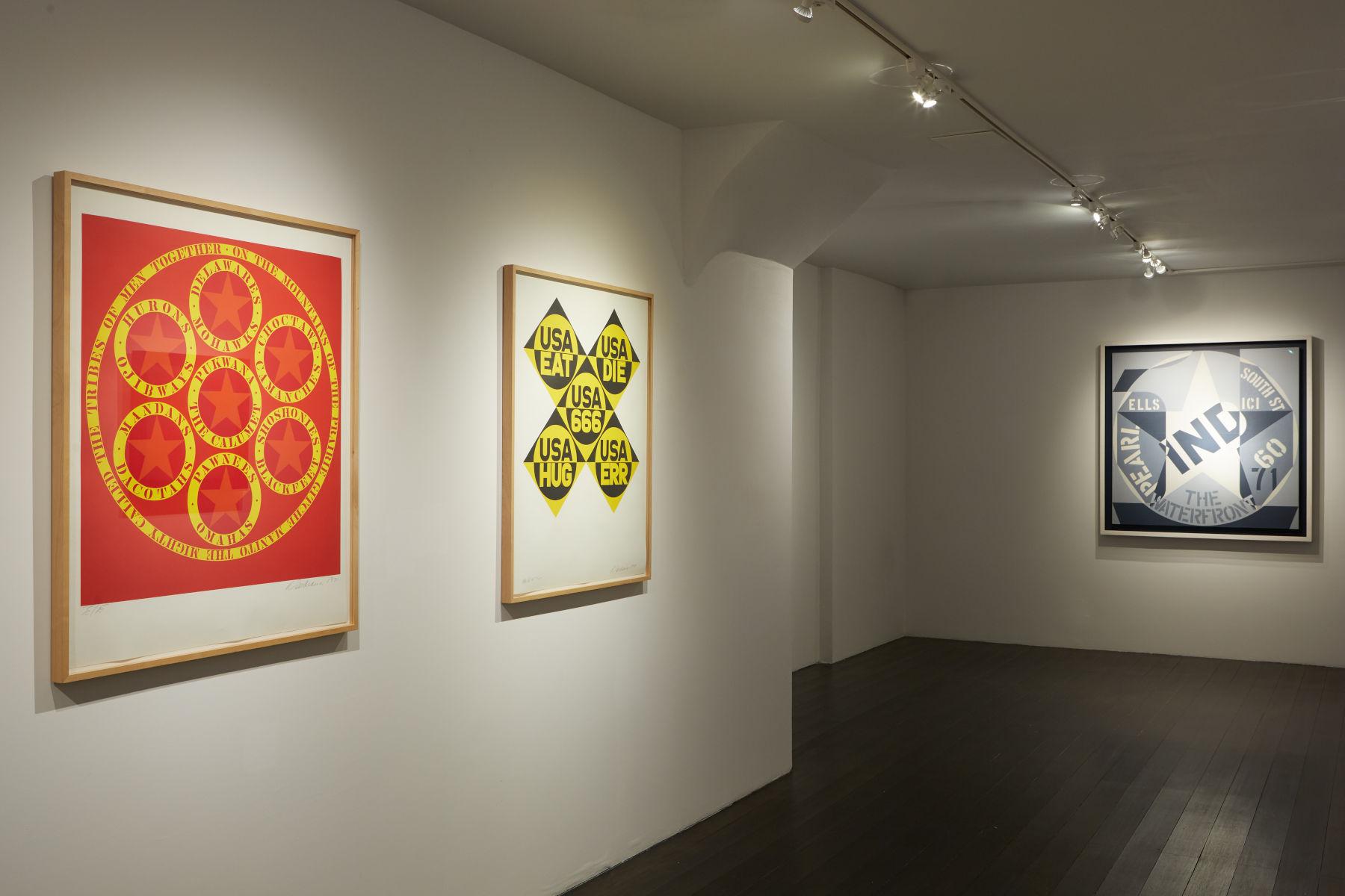 Galerie Gmurzynska New York Robert Indiana 1