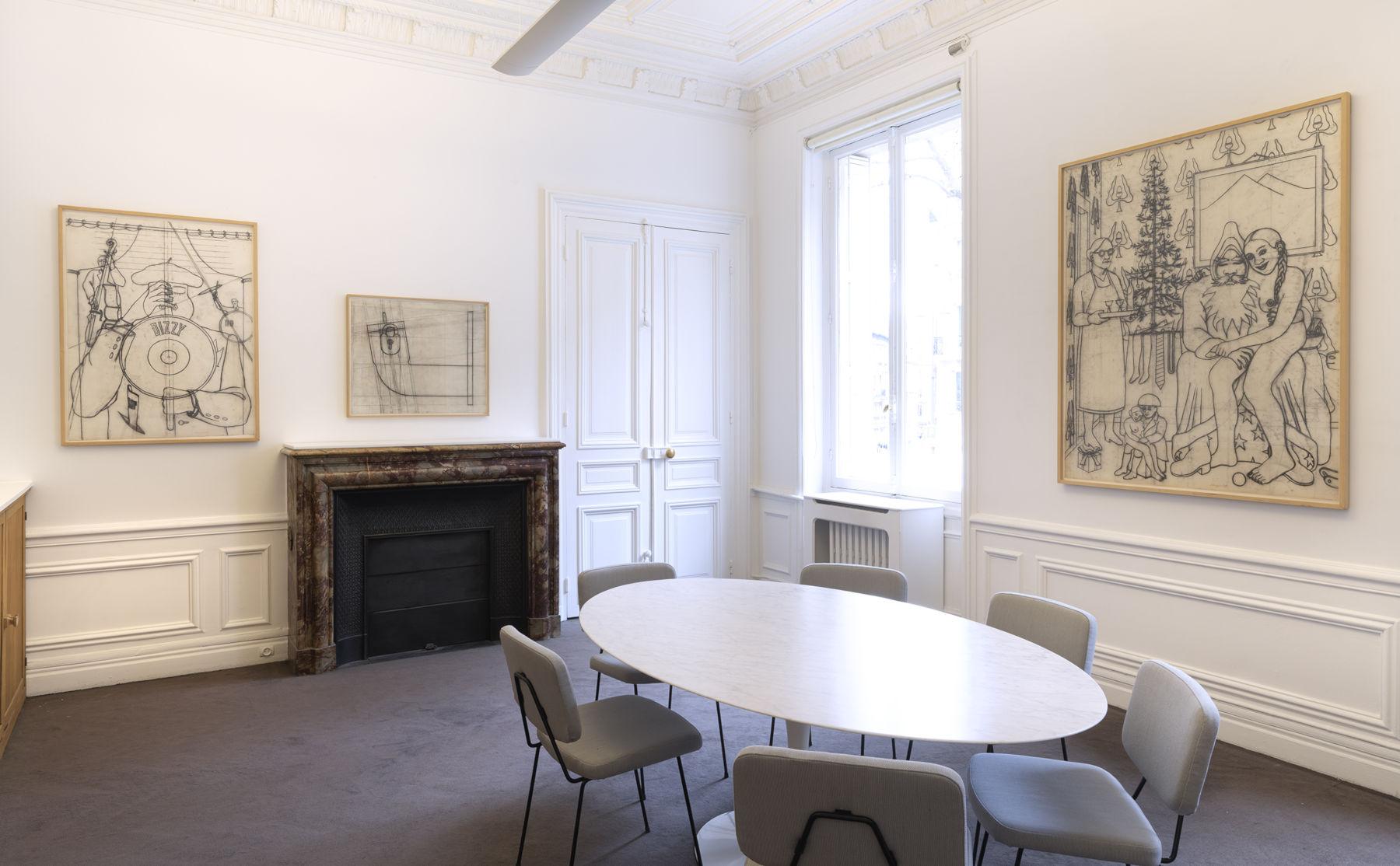 Galerie Lelong Konrad Klapheck 1