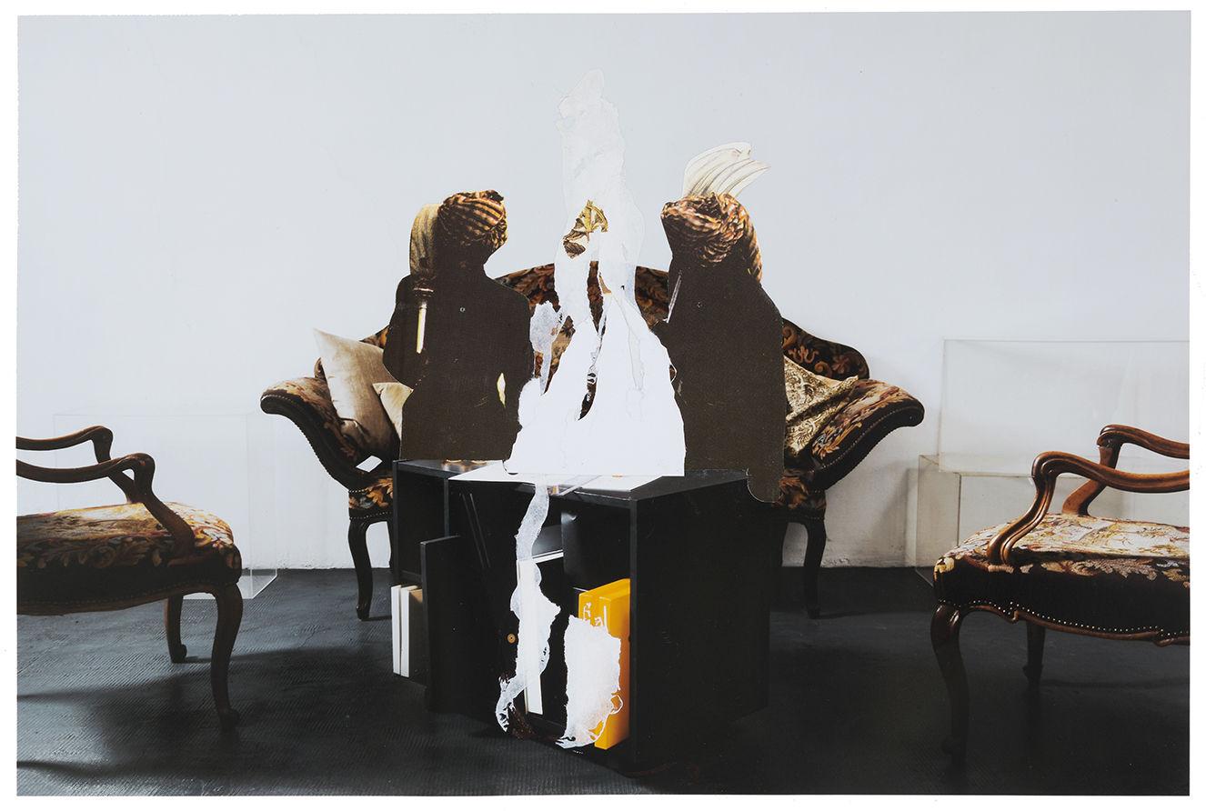 """Studio per """"Sala d'attesa"""" (Palais des Thés)"""