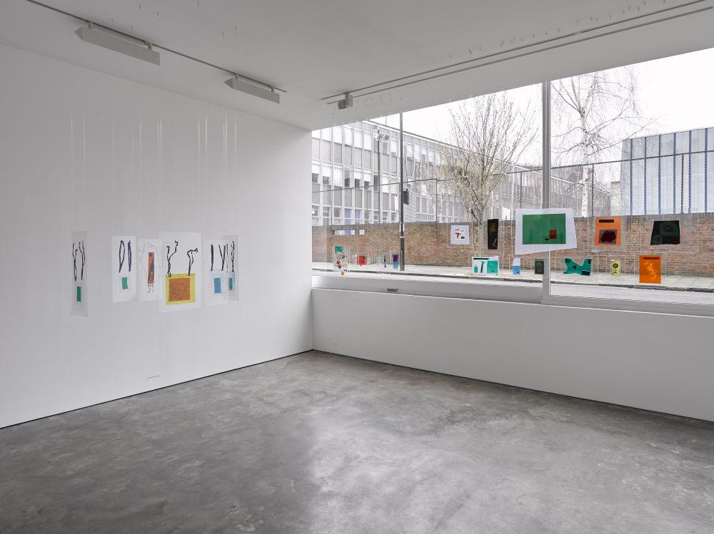 Lisson Gallery London Dom Sylvester Houedard 4