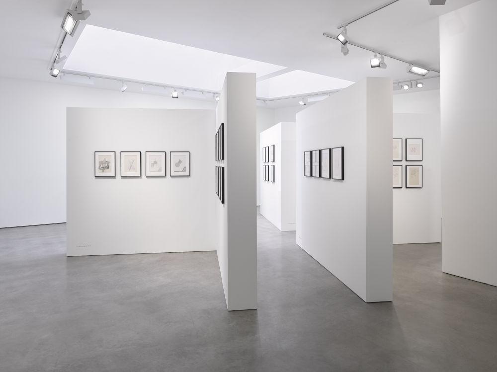 Lisson Gallery London Dom Sylvester Houedard 5