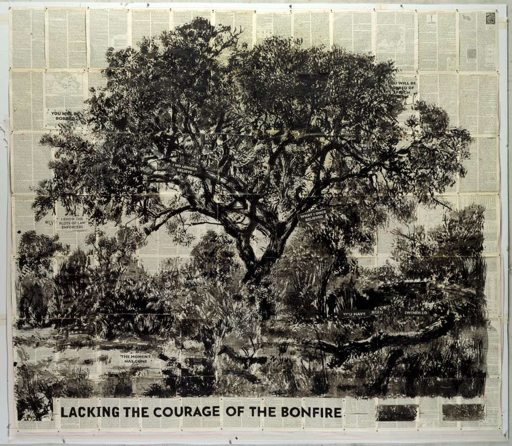 Untitled (Lacking the Courage of the Bonfire)