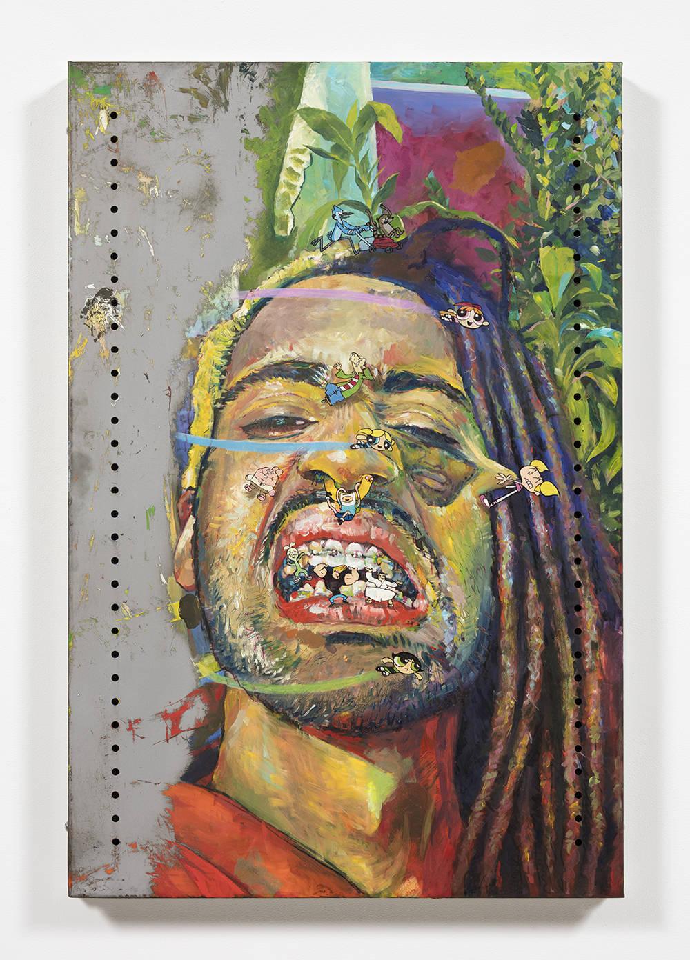 Untitled Self-Portrait 3 (blossom, ed, bubbles, dee dee, richard watterson, jake, finn, onion, johnny bravo, jack and buttercup)