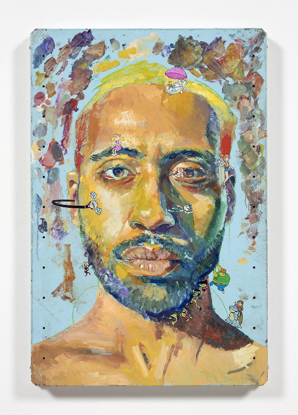 Untitled Self-Portrait 2 (rocko, helga, misty, danny phantom, jenny, zim, the gangreen gang, mabel and blastoise)