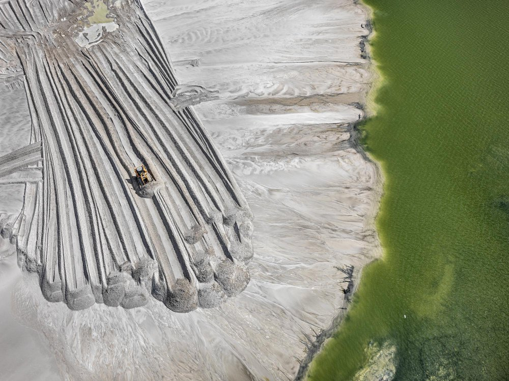 Phosphor Tailings #4, Near Lakeland, Florida, USA