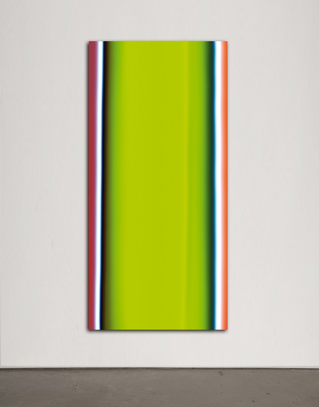 Liquids series: Green Fluo