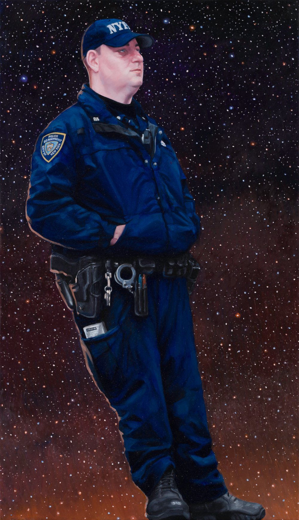 THE MATTER OVER NYPD OFFICER