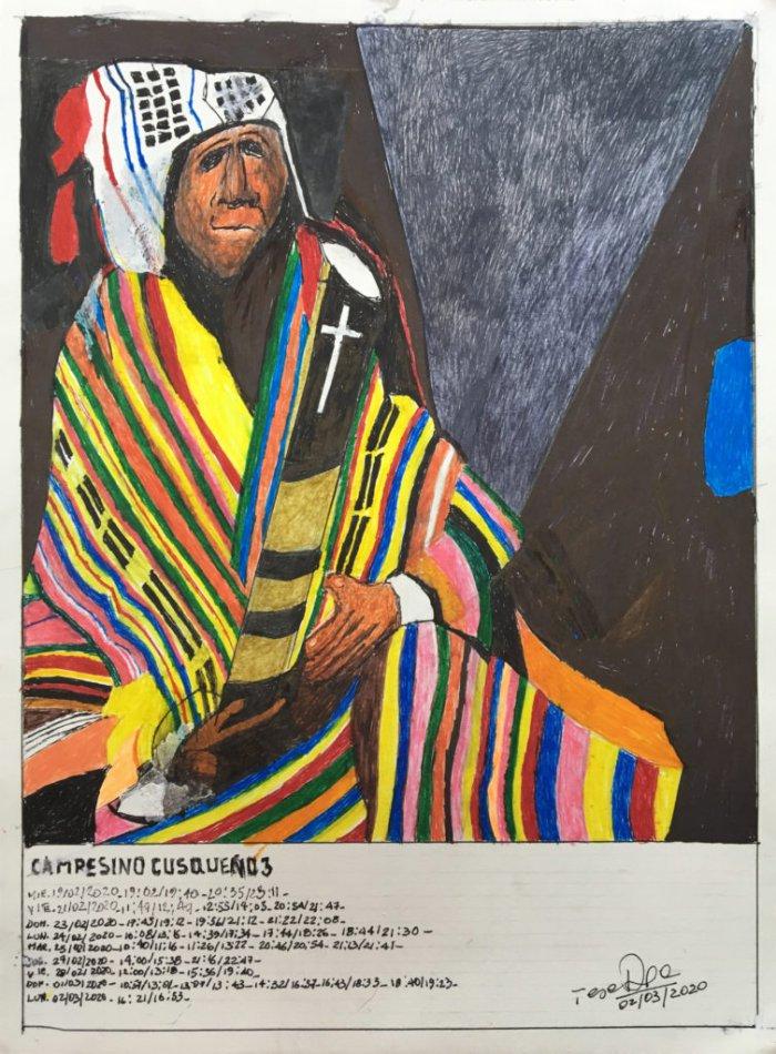 Campesino Cusqueño 3 Fecha: 02 marzo 2020 (From the series: Campesino Cusqueño)