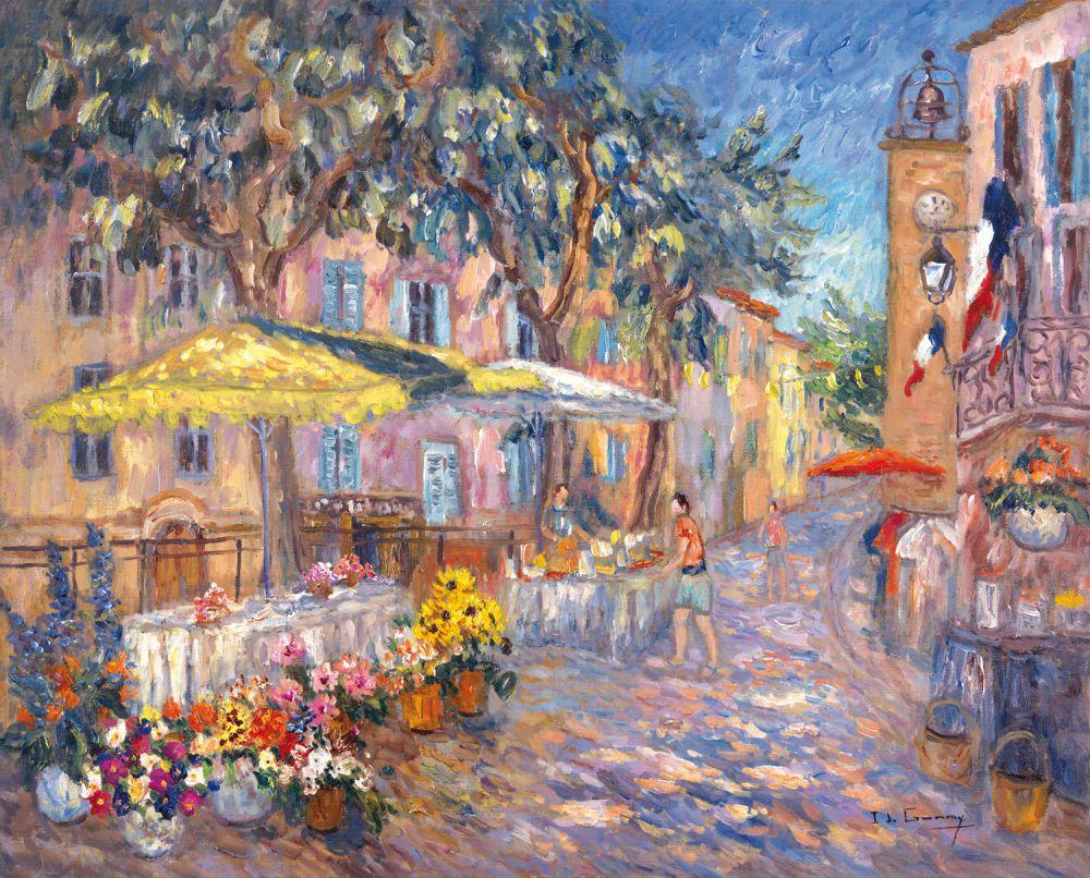 Marché de la Cadière