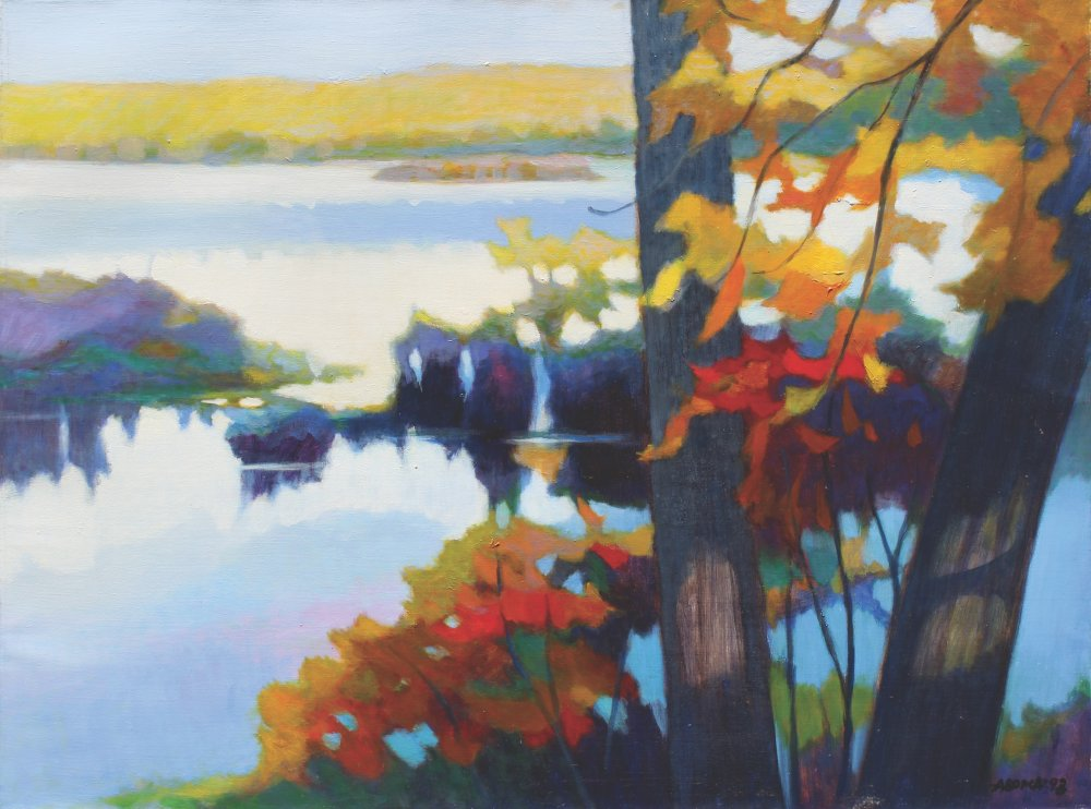 Autumn of Lake Tiorati
