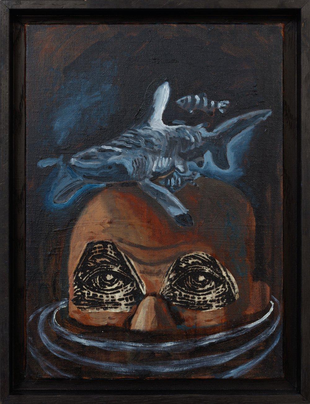 Melancholia (blue shark) Tête