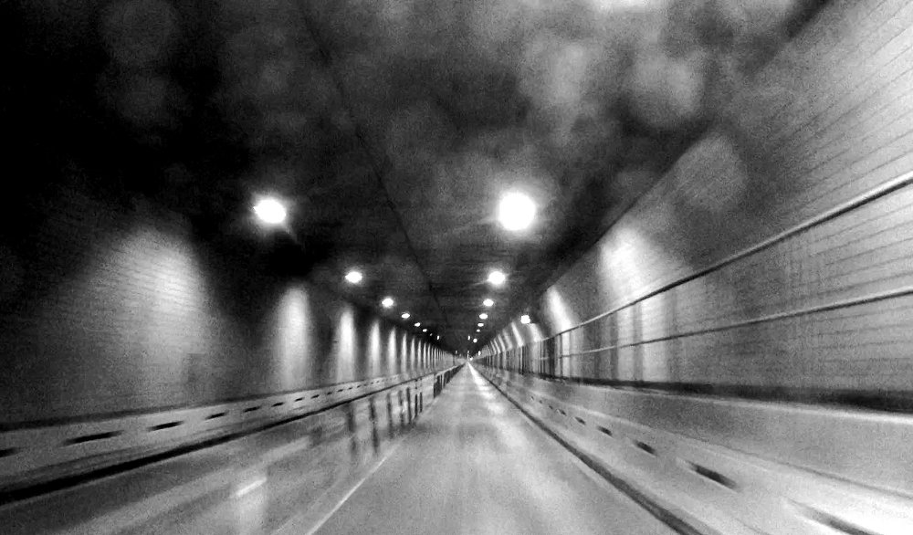 """Escape from New York (still from """"Battery Tunnel"""")"""