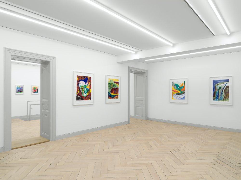 Galerie Eva Presenhuber Ramistrasse Shara Hughes 5