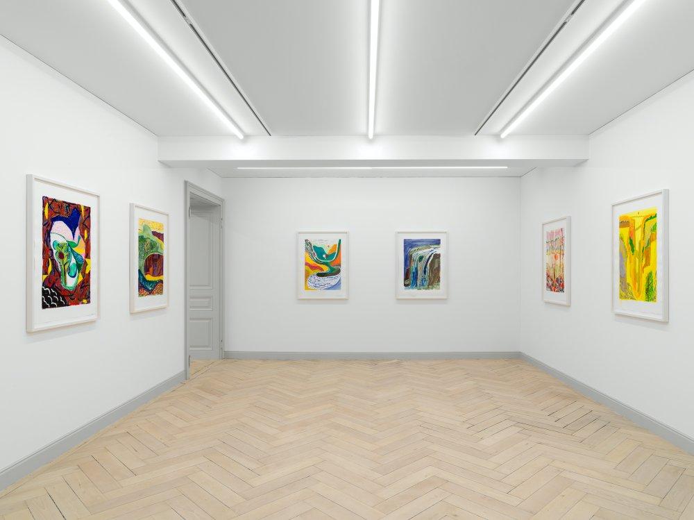 Galerie Eva Presenhuber Ramistrasse Shara Hughes 6