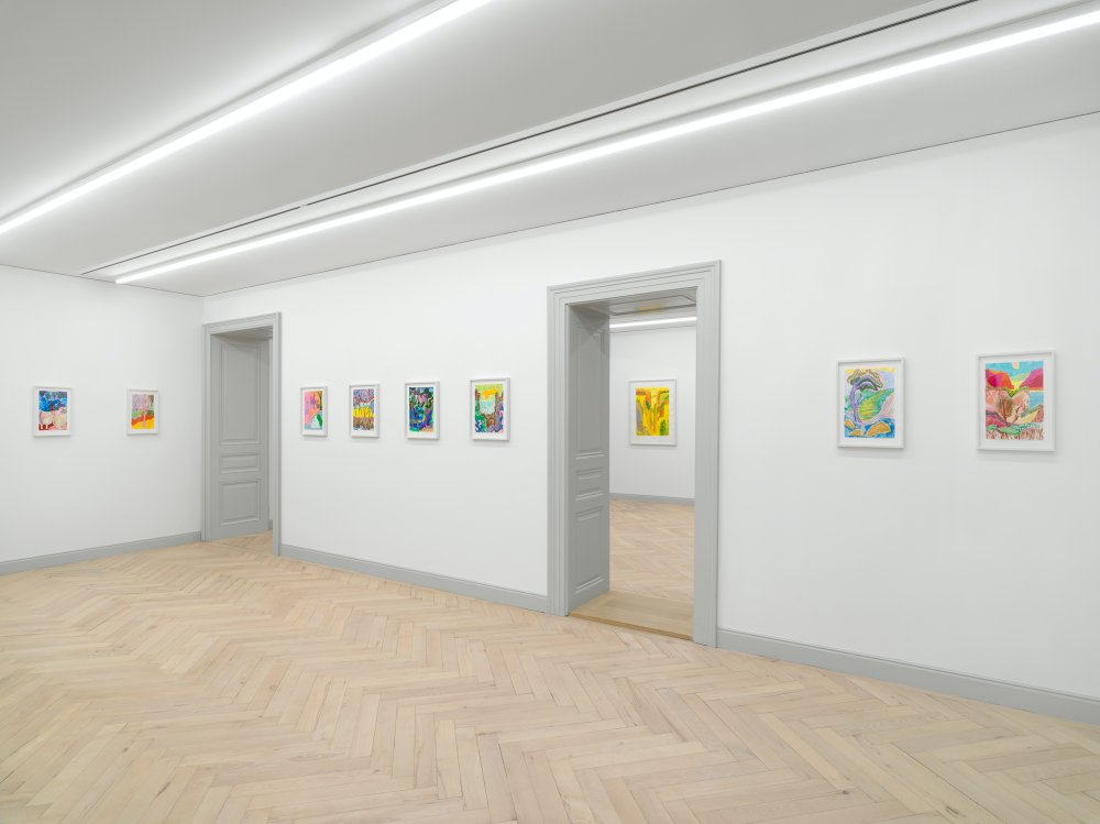 Galerie Eva Presenhuber Ramistrasse Shara Hughes 9