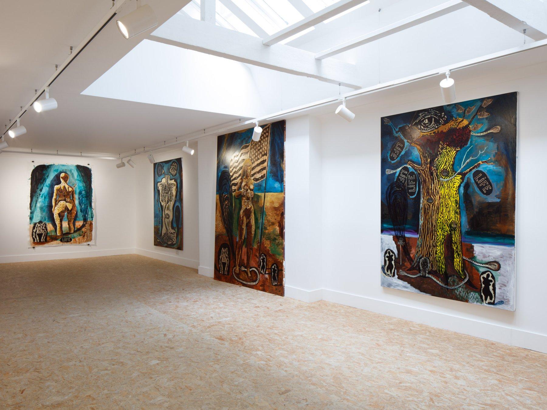 HdM Gallery Damien Deroubaix 1