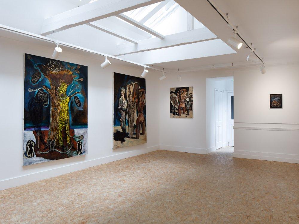 HdM Gallery Damien Deroubaix 4