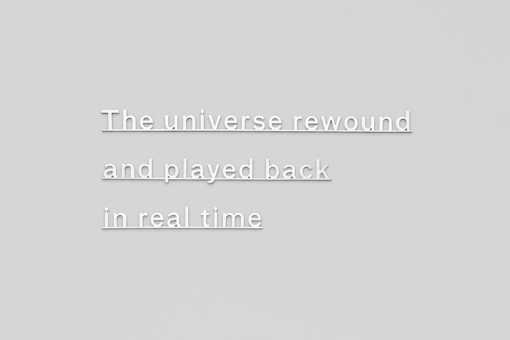 Ideas (the universe rewound and played back in real time)