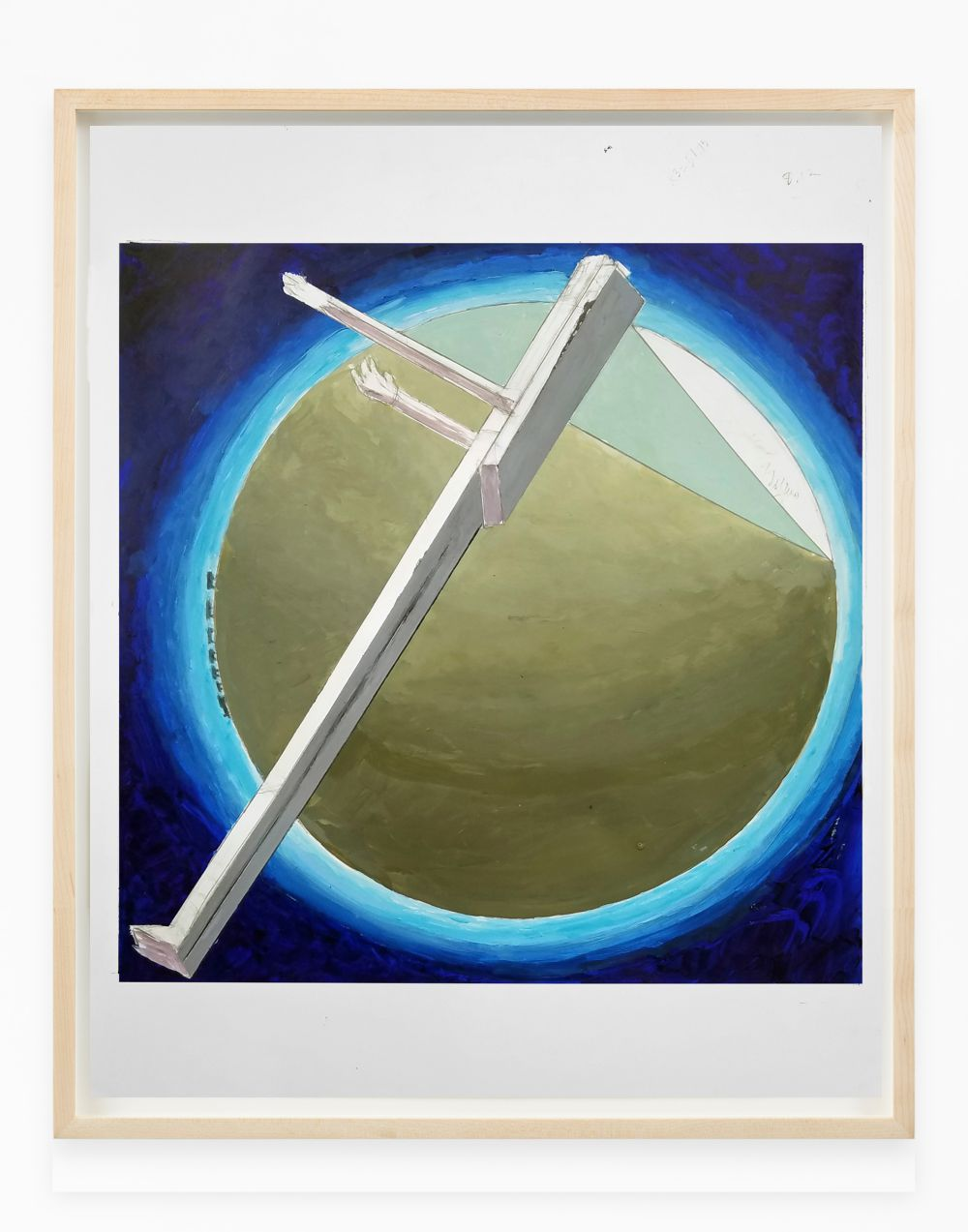 Study for Astronaut, Sunrise (after El Lissitzky)