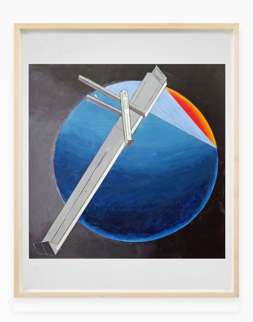 Study for Astronauts, Sunset (after El Lissitzky)