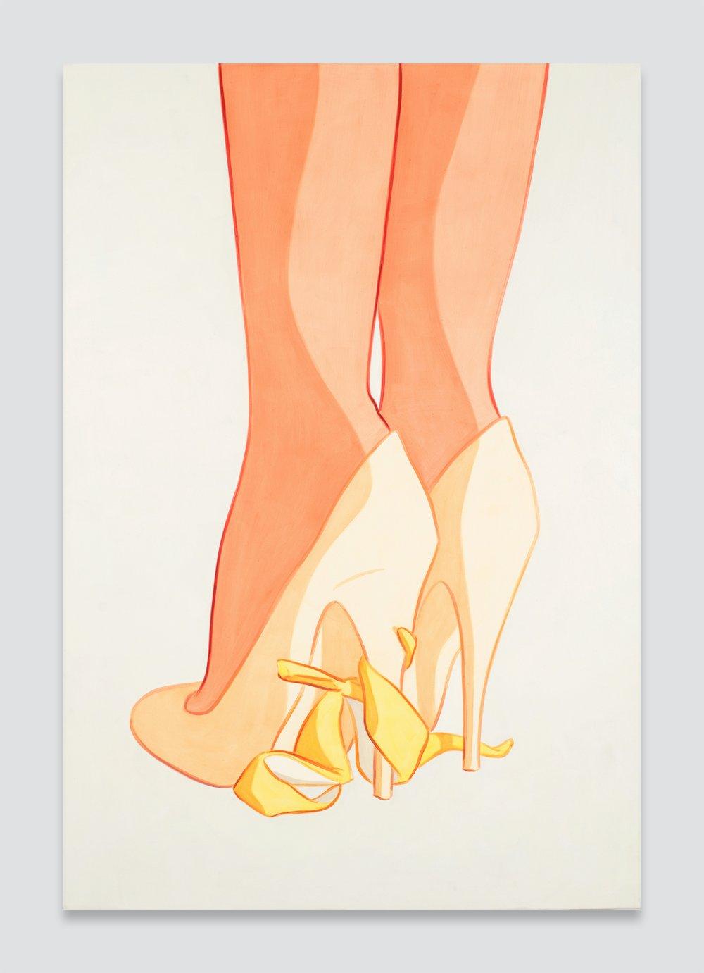 Heels, Peel Under Shank, Soft Wrap