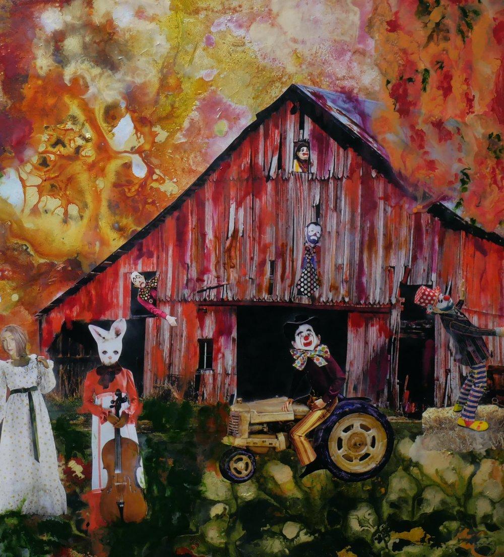 Detail: The Barn Dance