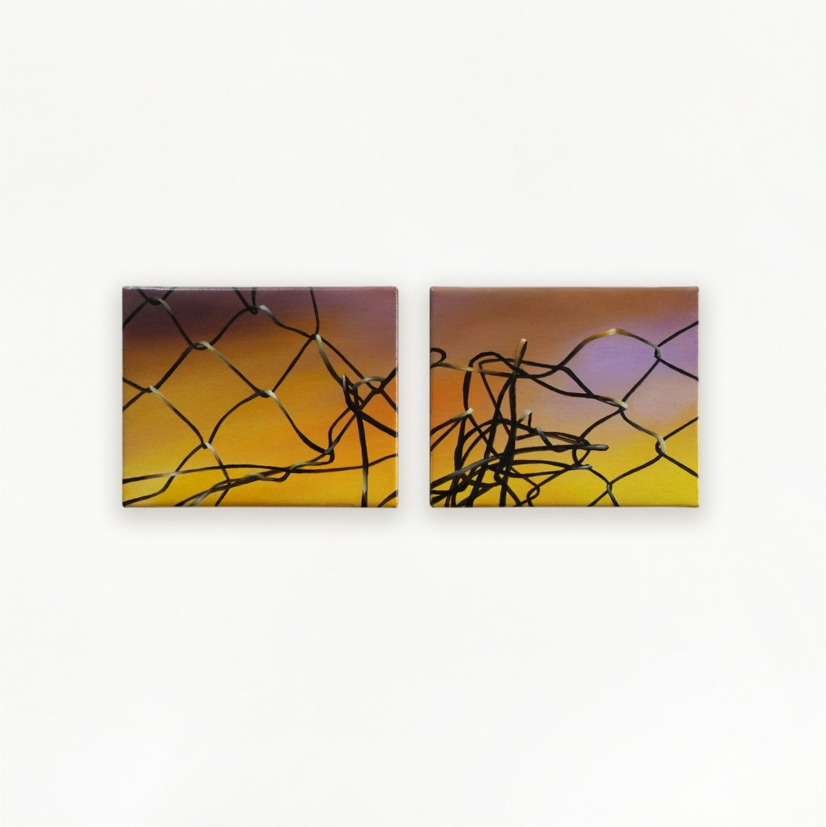 Old Frontiers (diptych)