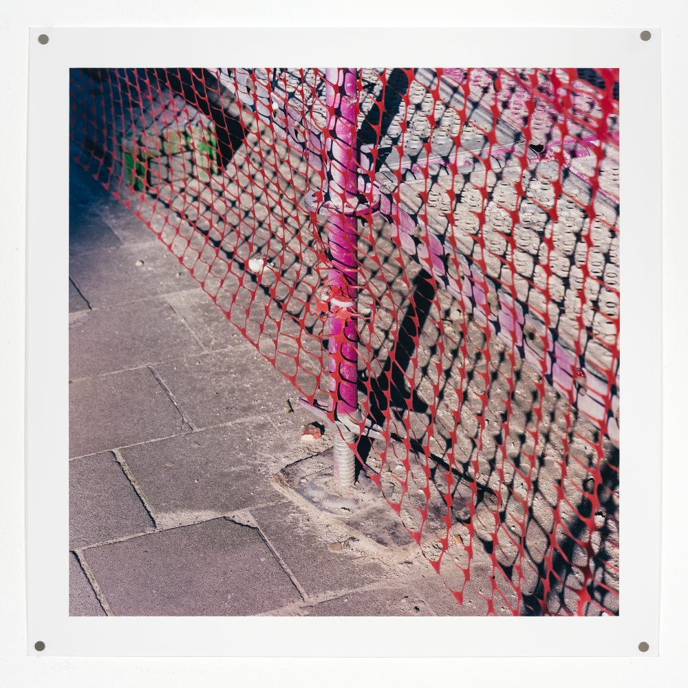 A Brief History of Scaffolding 3 (Brussels, pink)