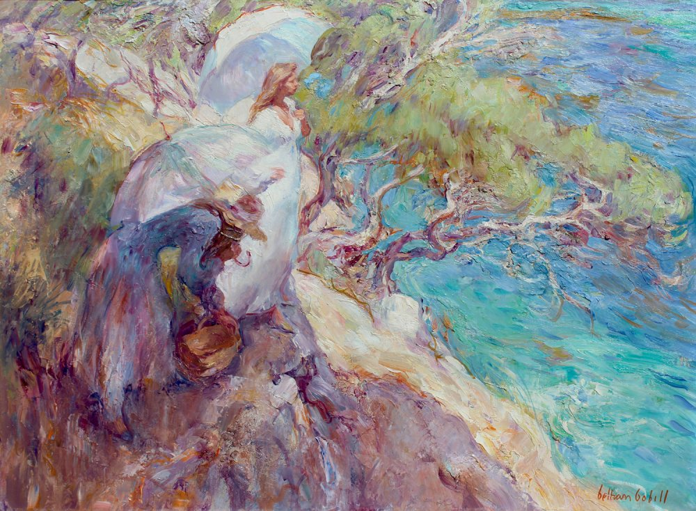 El pino inclinado al mar
