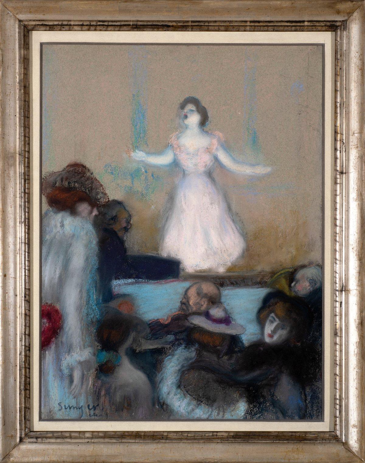 Cabaret scene in Paris