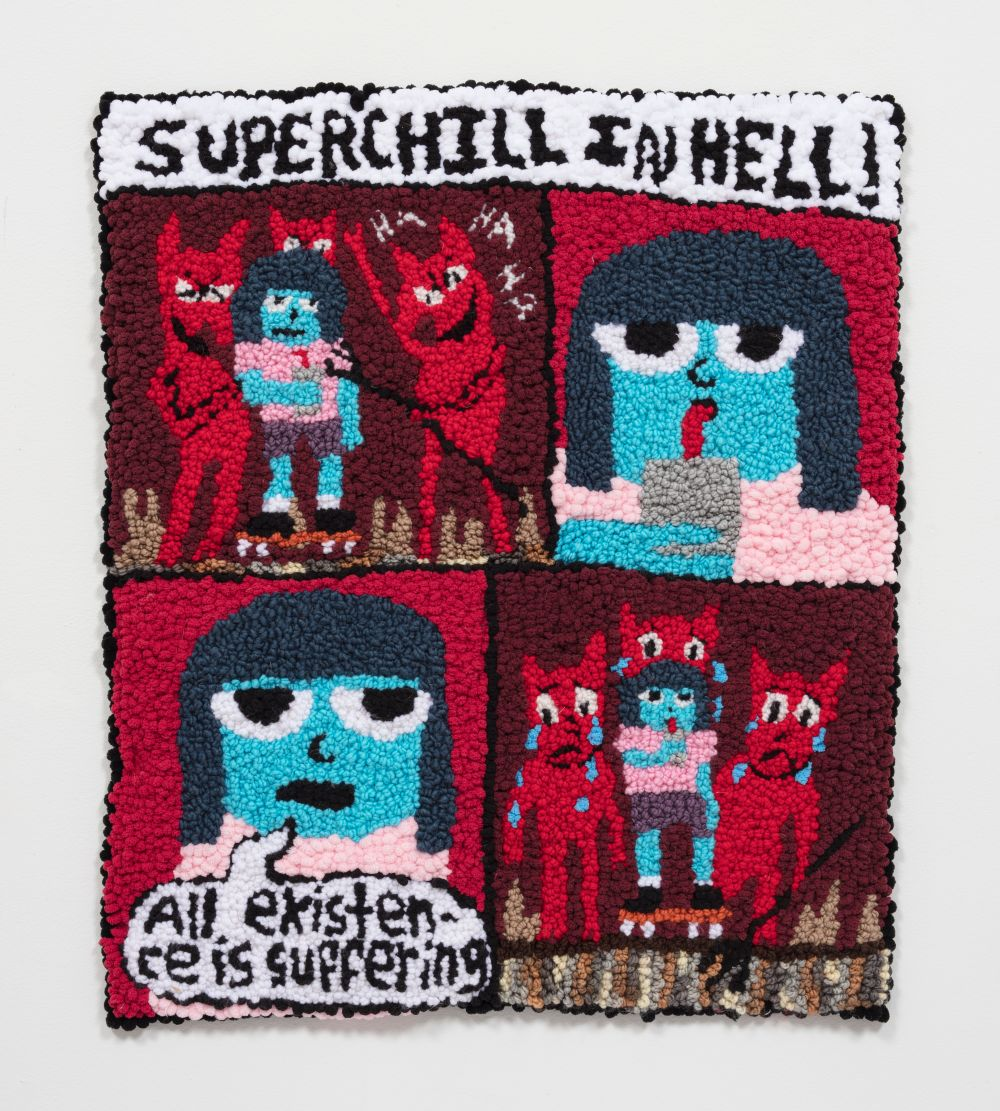 Superchill In Hell: Existence Is Suffering