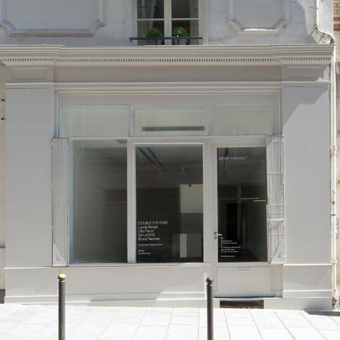 kamel mennour, r. du Pont de Lodi, Paris  - GalleriesNow.net