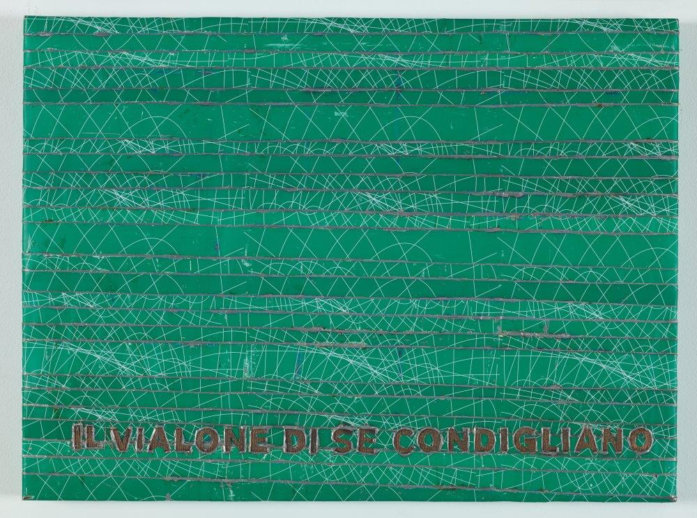 Cocorico painting, Il vialone di Secondigliano