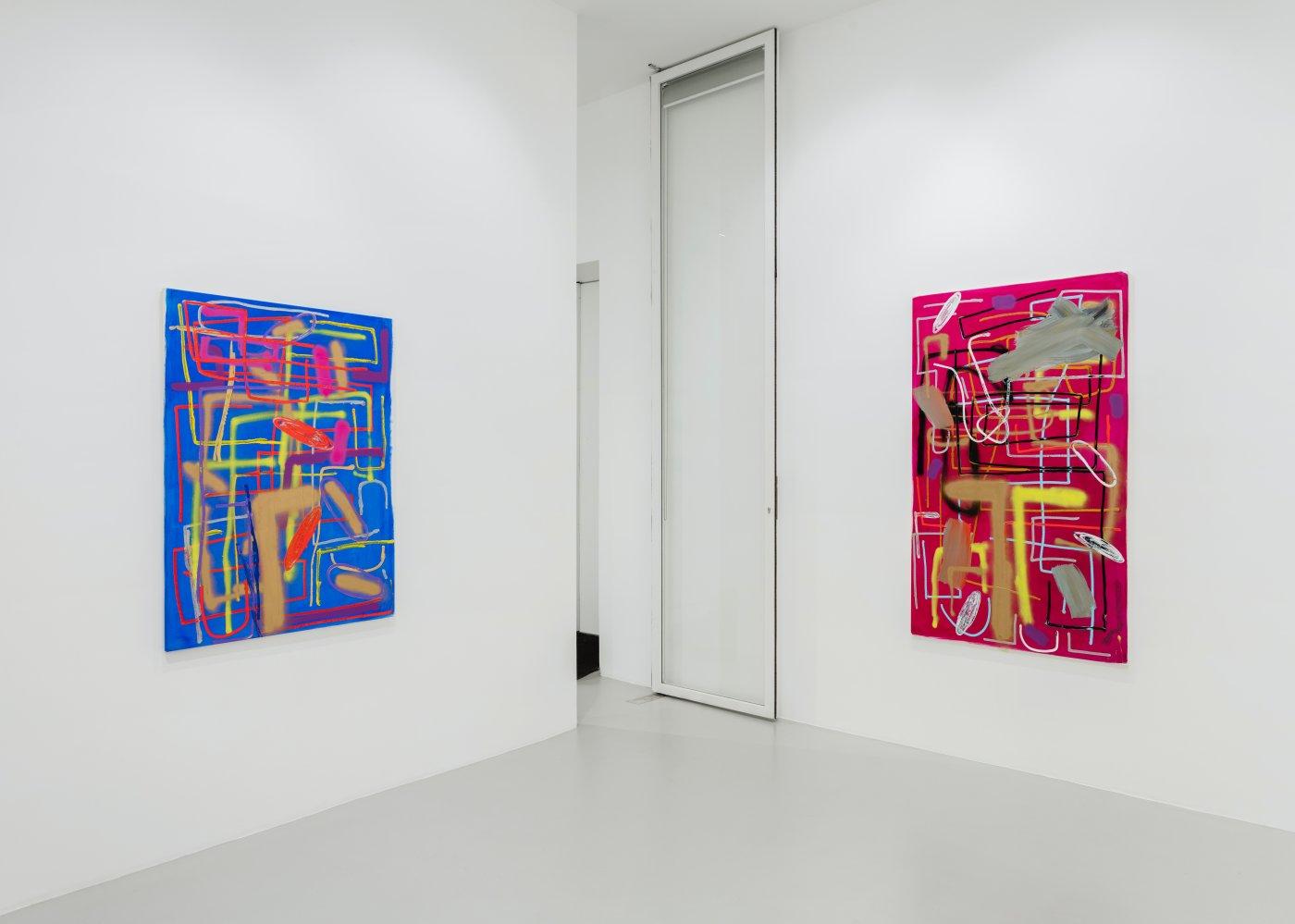 Galerie Max Hetzler Paris Andre Butzer 8