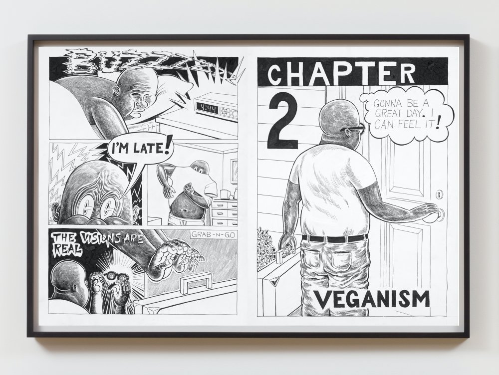 Trenton Doyle Hancock Presents The Moundverse, Chapter 2: Veganism