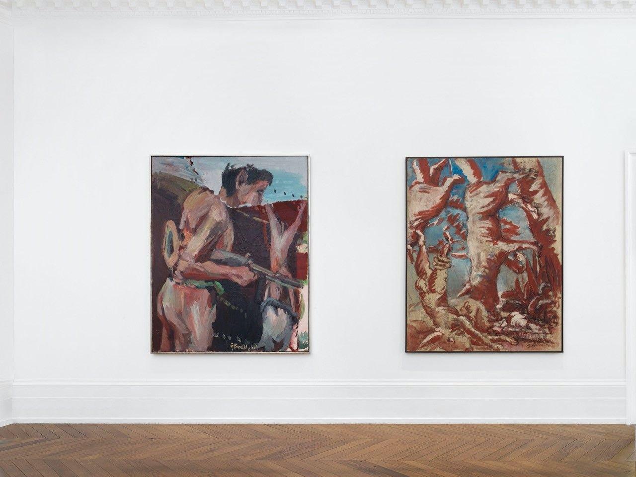 Michael Werner London Georg Baselitz 5