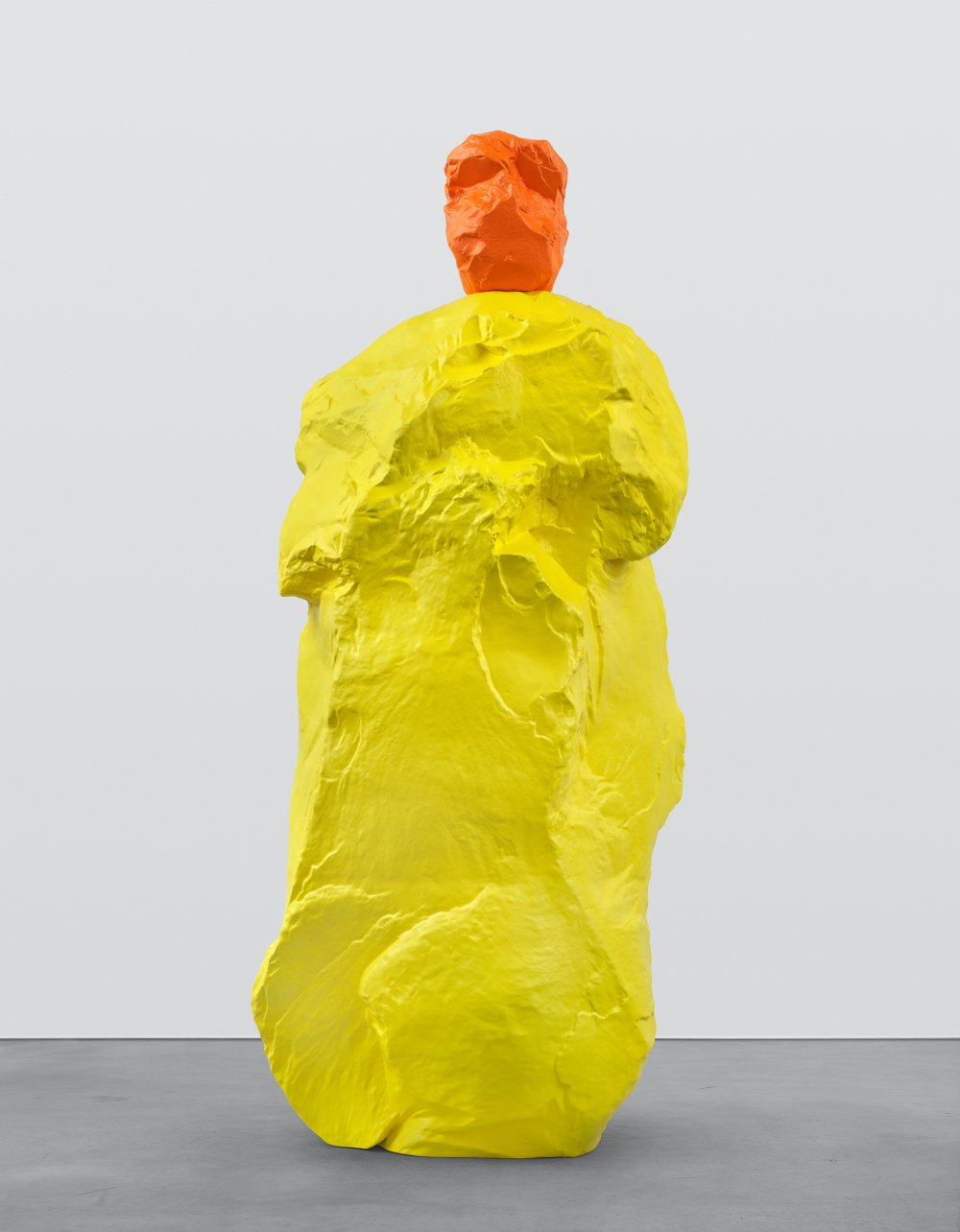 orange yellow monk