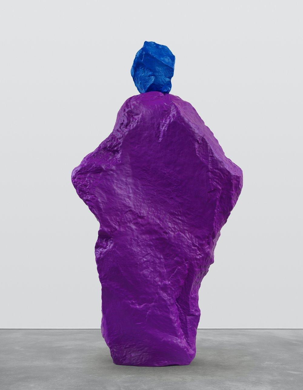 blue violet nun