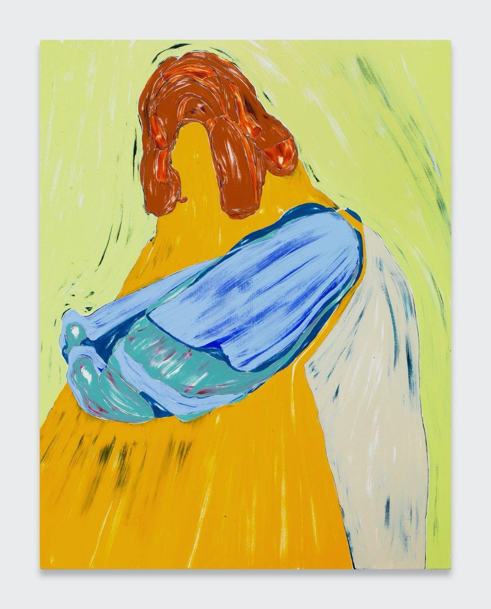 Big Yellow Self-Portrait